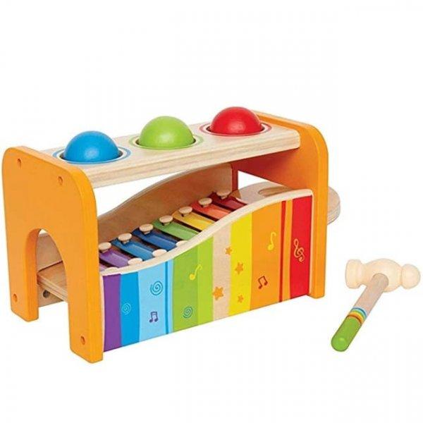 joc montessori cu ciocanel si xilofon 3