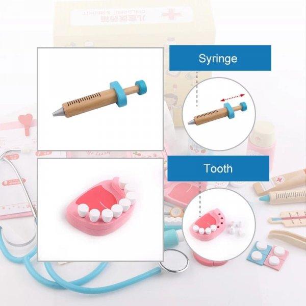 jucarie de rol din lemn micul stomatolog 2
