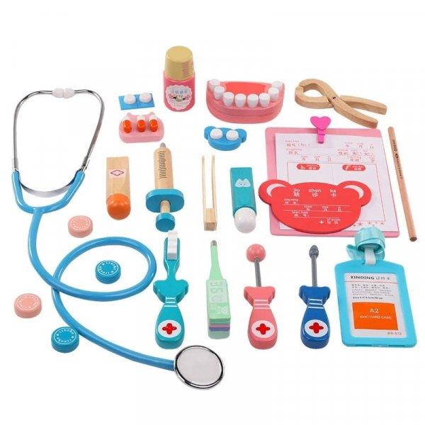 jucarie de rol din lemn micul stomatolog 5