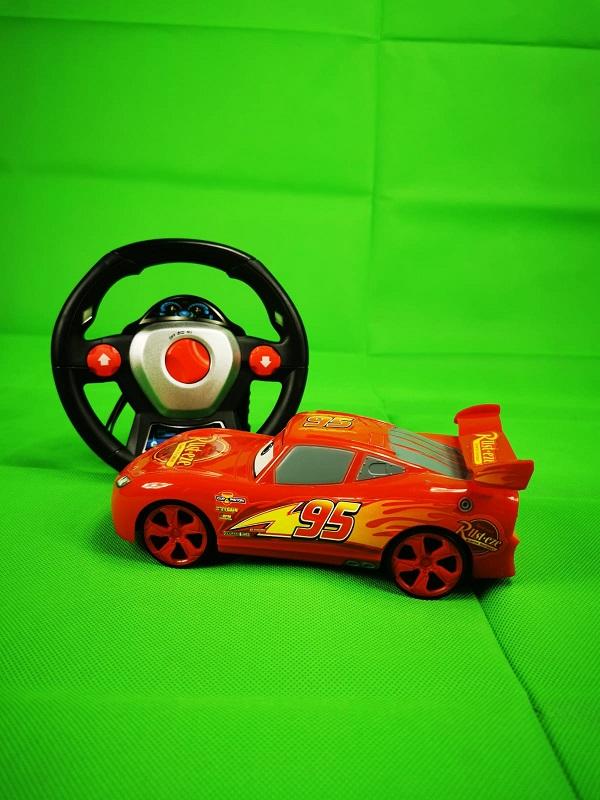 masinuta cu telecomanda tip volan cars 4