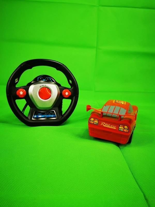 masinuta cu telecomanda tip volan cars 5