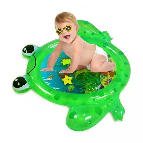 saltea cu apa bebelusi broscuta