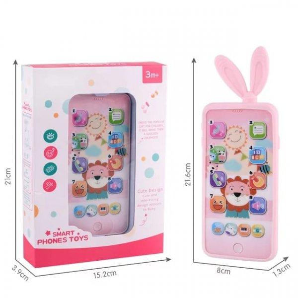 telefon de jucarie smart phone iepuras 3