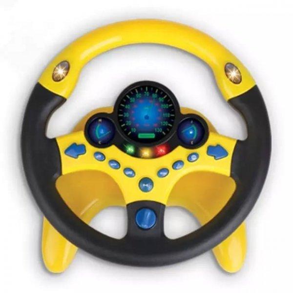 volan de jucarie interactiv cu sunete si lumini 1
