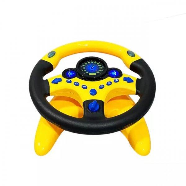 volan de jucarie interactiv cu sunete si lumini 4