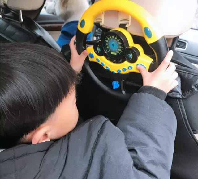 volan de jucarie interactiv cu sunete si lumini11