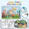 carte de colorat cu apa si animalute 3d 3