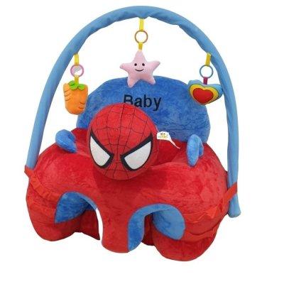 fotoliu din plus cu arcada de jucarii spiderman
