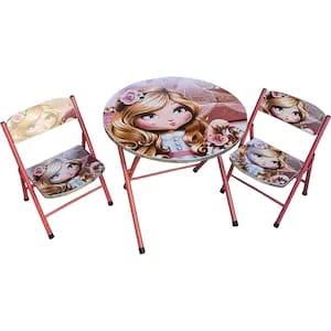 masuta pliabila cu doua scaunele