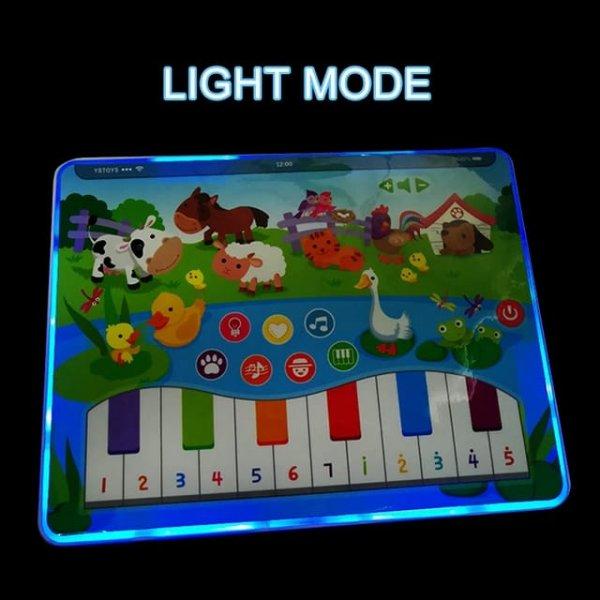 tableta de jucarie cu pian animalute din ferma 2