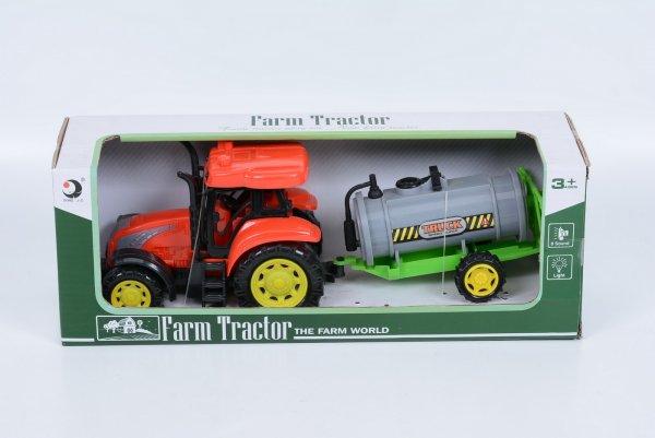 tractor cu cisterna sunete si lumini 1