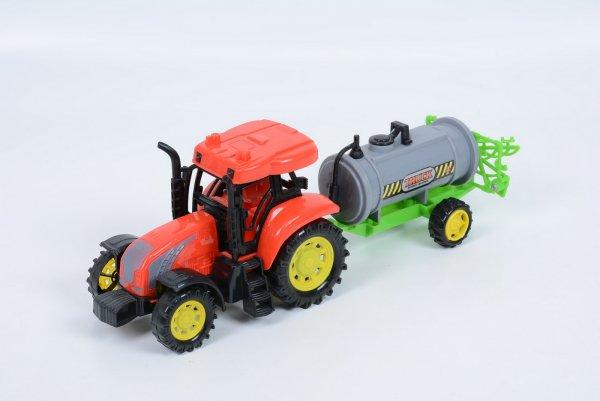 tractor cu cisterna sunete si lumini 2