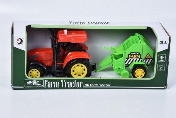 tractor de jucarie cu remorca 1