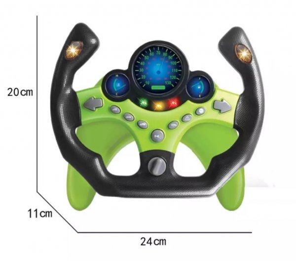 volan de jucarie ergonomic cu tija de prindere 2