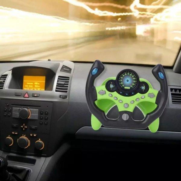 volan de jucarie ergonomic cu tija de prindere 4