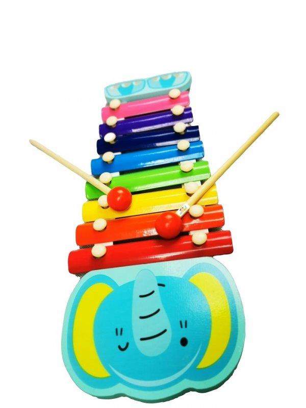 xilofon de jucarie elefant