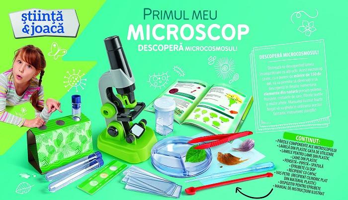 joc interactiv primul meu microscop 2
