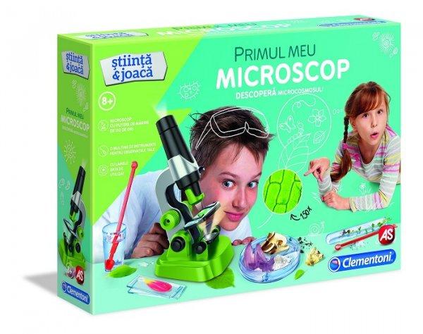joc interactiv primul meu microscop