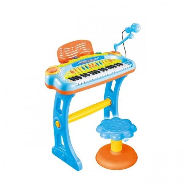 pian de jucarie cu microfon