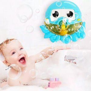 caracatita de baie octopus bubble