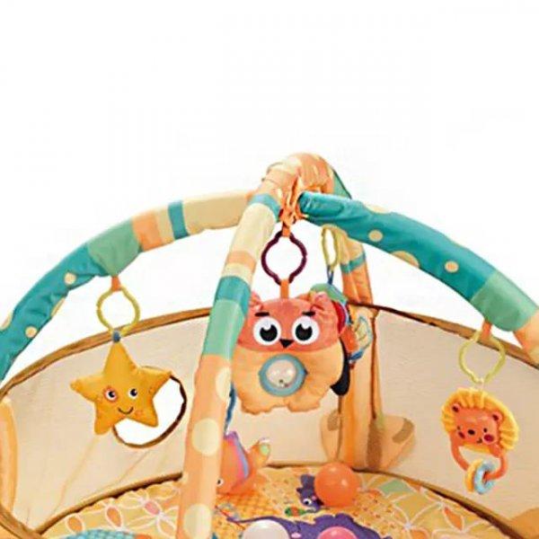 Tarc bebe cu centru de activitati si bile 4