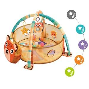 Tarc bebe cu centru de activitati si bile 6