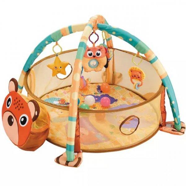 Tarc bebe cu centru de activitati si bile