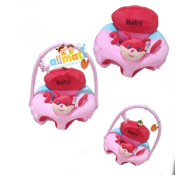 fotoliu din plus pink baby 1