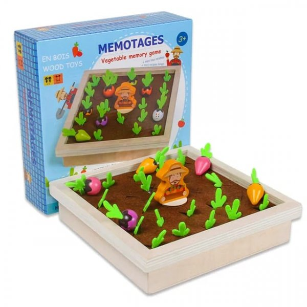 joc de memorie culege legumele 4