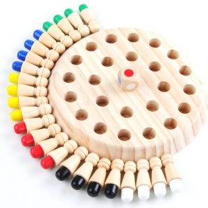 joc de memorie din lemn