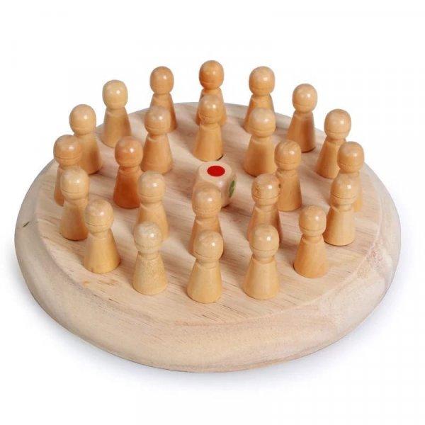joc de memorie din lemn memory chess 3