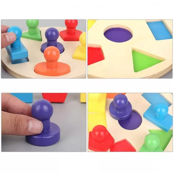 joc educativ sortator forme geometrice