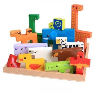 joc tetris din lemn