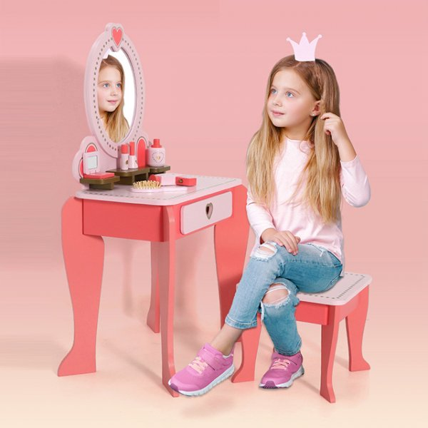 masuta de frumusete copii little heart 6