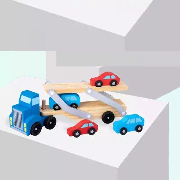 joc din lemn transporter truck 3