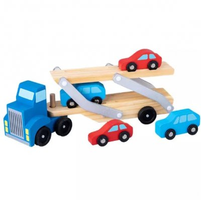 joc din lemn transporter truck