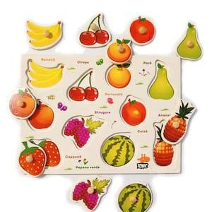 puzzle lemn fructele
