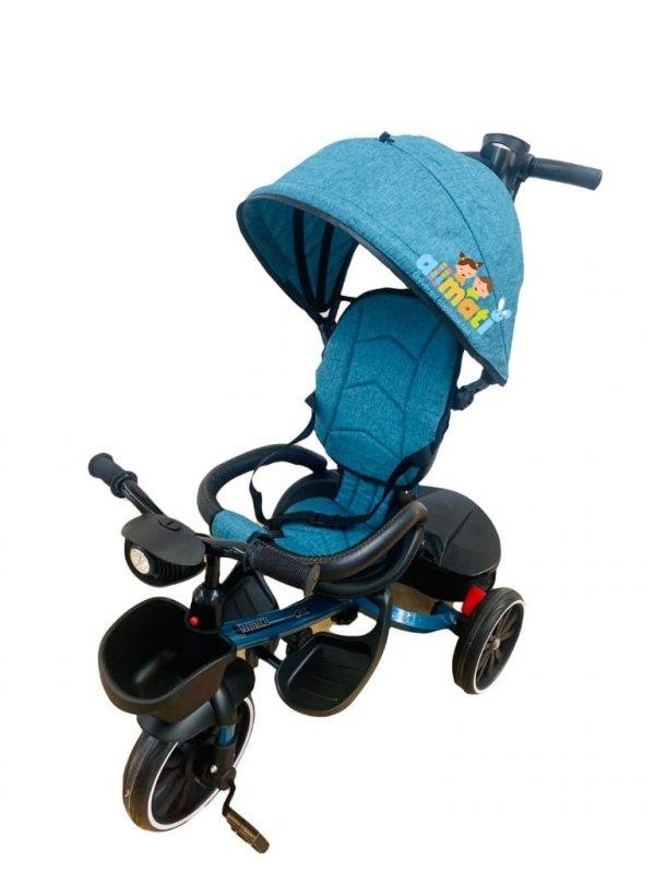 tricicleta copii 6 48 luni turcoaz 2