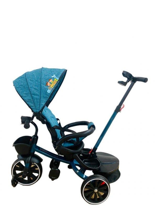 tricicleta copii 6 48 luni turcoaz
