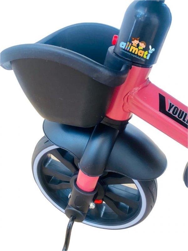 tricicleta copii cu scaun reversibil 3