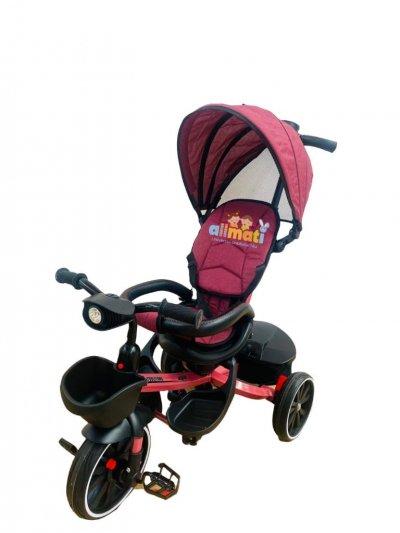 tricicleta copii cu scaun reversibil
