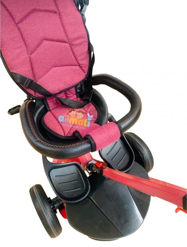 tricicleta copii cu scaun reversibil 5