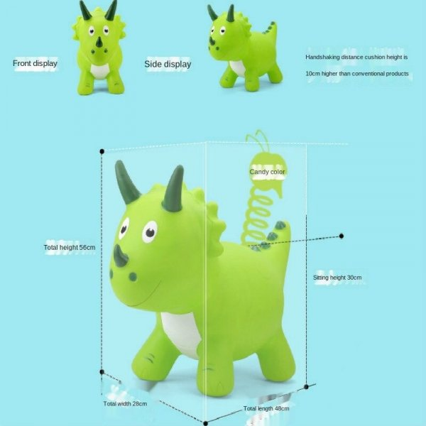 dinozaur gonflabil de calarit 1