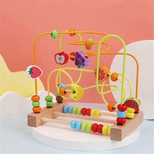 labirint montessori fructe si animalute 1