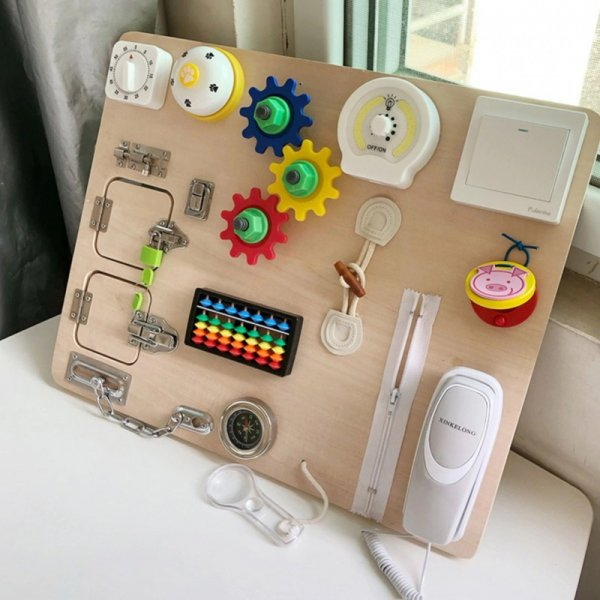 placa senzoriala montessori
