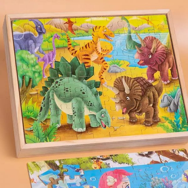puzzle 4in10din lemn 3