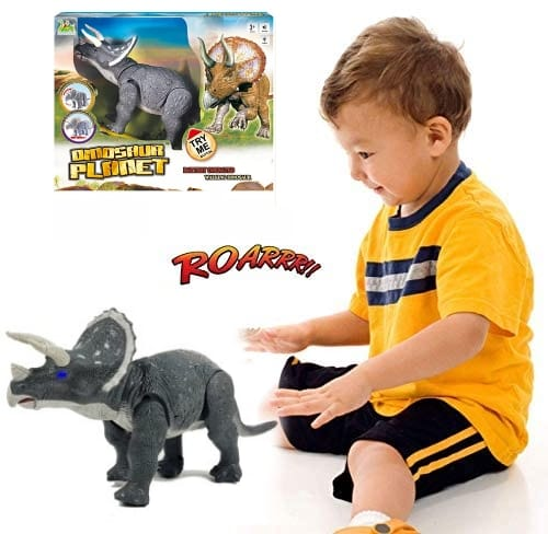 robot dinozaur triceratops cu telecomanda 1 2