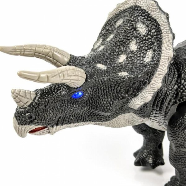 robot dinozaur triceratops cu telecomanda 5