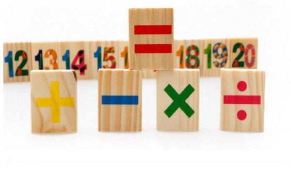 tablita multifunctionala din lemn cu litere cifre ilustratii 8
