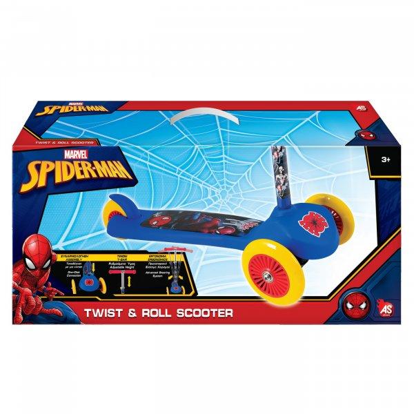 trotineta copii twist roll spiderman 6